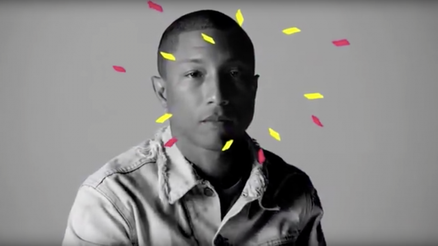 Pharell Wiliams  - Woolworth campaign image